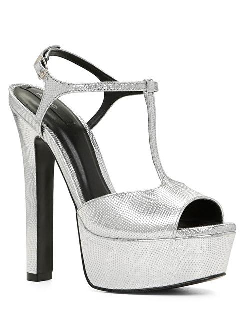 Aldo Platform Ayakkabı Gümüş